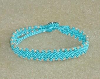 Beaded bracelet, tropical jewelry, beach jewelry, boho bracelet, chic