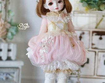 Nigo---BJD clothes { Cinderella }= Pumpkin for Holiday Child/MSD/SDM