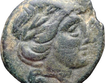199 - 146 B.C.  Ancient Greek Thessaly Thessalian League Trichalkon Coin