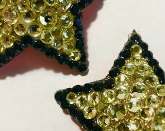 Star pasties, chapagne gold