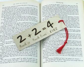 Teacher Bookmark. Teacher Quote. Teacher Gift. Wood Bookmark. Hand Pyrography. Inspirational Quote. Unique Bookmark. Special Teacher.