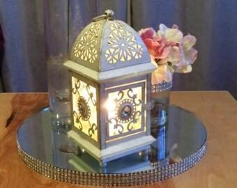 Wedding Mirror Centerpiece Stand