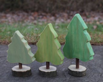 Evergreen Tree Set
