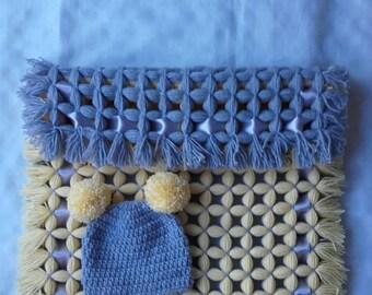 baby blanket, newborn stroller blanket, baby  blanket, girl carseat blanket, Crochet girl blanket, stroller blanket, ready to ship