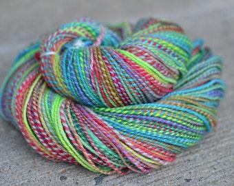 Walk of Shame - superwash merino/cashmere/nylon 2-ply handspun yarn - sport weight, 250 yards