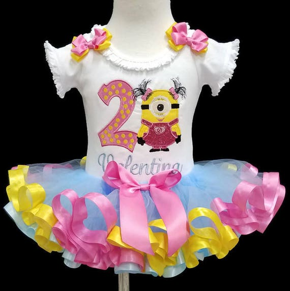 2nd Birthday Girl Outfit Second Birthday Tutu Outfit