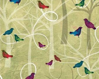 180570 Green Trees & Birds