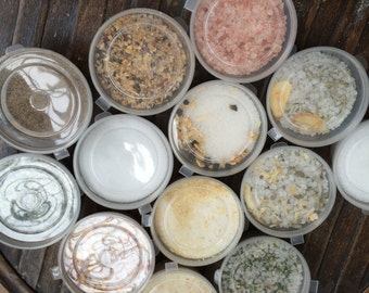 Gourmet salts 14 different varieties