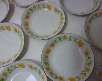 "Ekco ""Floral Generation"" Fruit or Dessert Bowl - 7 Available"