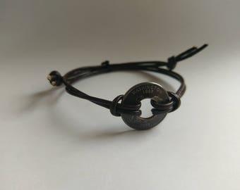 Custom State Quarter Bracelet