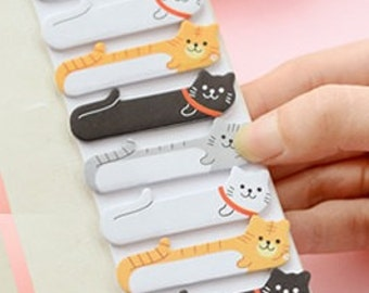 Stick and Memo  - 120 sheets - Lovely Cat