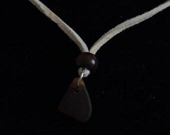 Seaglass Suede Necklace