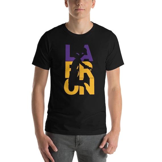 1e940fd36c5 LeBron James tshirt basketball player T-Shirt los angeles