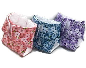 Baby Doll Diapers, clothes, accessories, pretend play, baby doll diaper bag, cherries, cloth diapers, play diapers