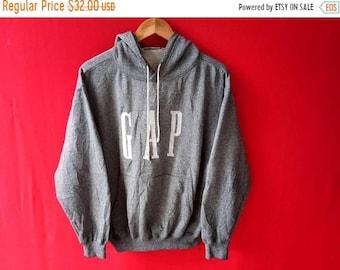 vintage gap sweatshirt hooded medium mens size