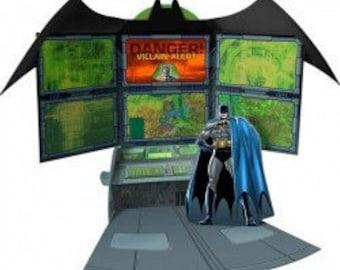 Super Hero Centerpiece