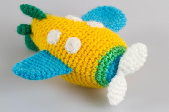 Amigurumi Basic Patterns : Airplane amigurumi crochet pattern crochet toys crochet