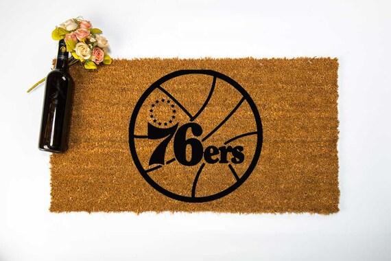 Philadelphia 76ers Door Mat Philadelphia 76ers Welcome Mat