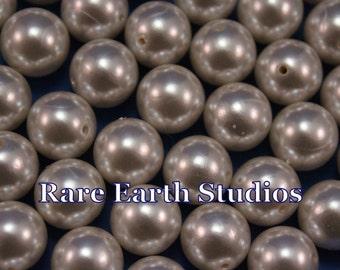 25 Vintage 15mm Faux Pearls 60516051