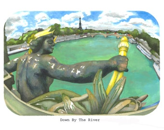 Down By The River: SIGNED and NUMBERED PRINT