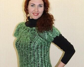 Vest, crochet waistcoat