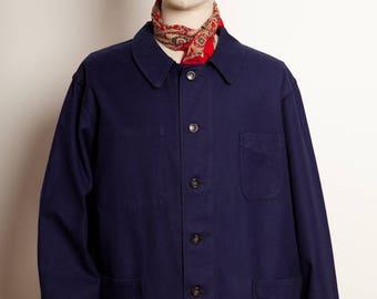 French Blue indigo Work Jacket 60's