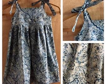 Boho Batik Sundress, girls size 6