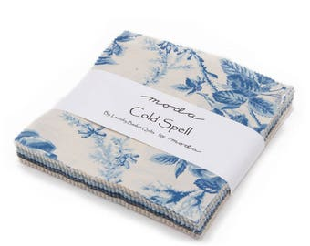 Moda Cold Spell Mini Charm Pack by Laundry Basket Quilts