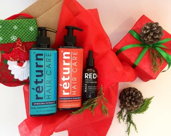 Mothers Day gift / Set 17 / For Hair / Natural shampoo