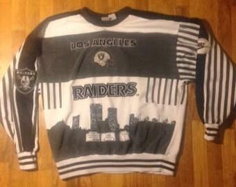 Vintage 1980's- 90's NIKE Los Angeles Raiders Sweatshirt sz XL