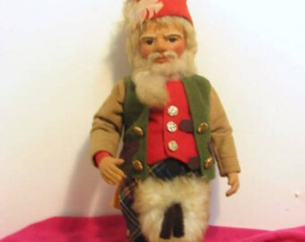 Fairie People Gnome Doll Irene Rama Graham Super Macgregor Gnome Vintage 1979 Scottish Fairy