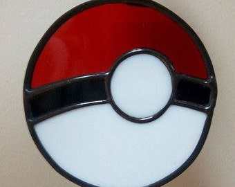 Stained Glass Poke ball