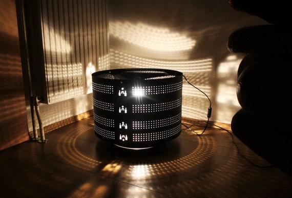 Articles Similaires à Lampe Tambour Machine à Laver ~ à La Main (faites Sur  Mesure) Sur Etsy