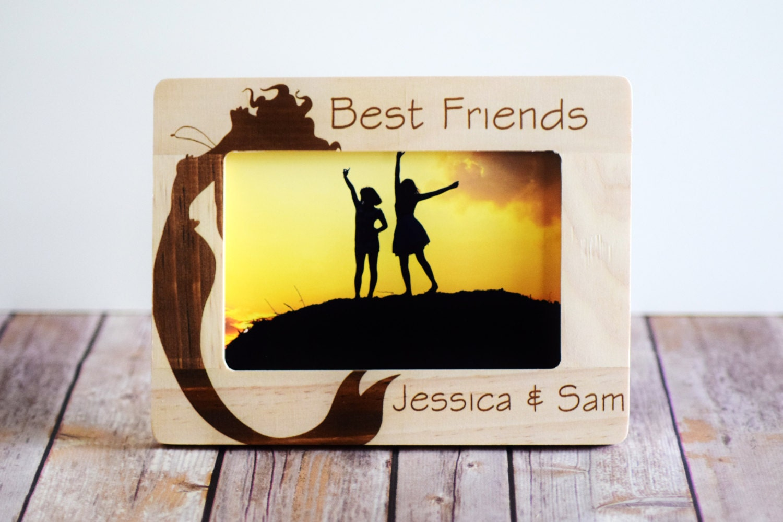 Best Friends Frame Personalized Photo FrameBirthday Great