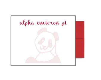 Alpha Omicron Pi Postcards - Background