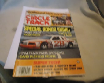 Vintage March 1985 Petersen's Circle Track Special Bonus Issue! Magazine Volume 4 Number 3 collectable