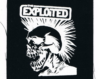The Exploited Punk Band Patch