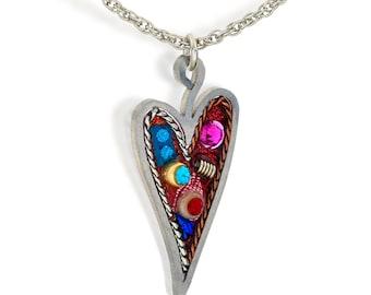 Seeka Heart Necklace Style #1431022