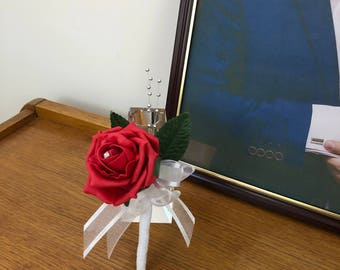 Fraser Red Boutonniere