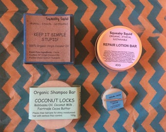COCONUT is FOR LOVERS! - Coconut Oil Soap, Coconut Oil Shampoo, Coconut Oil Conditioner, Coconut Oil Lotion Bar, Coconut Oil Gift Box