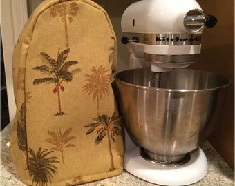KitchenAid Stand Mixer Cover Tropical Palm Trees fits 4.5/5 Quart