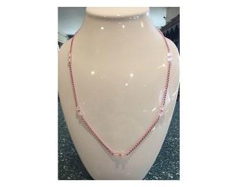 Natural Rose Quartz Necklace