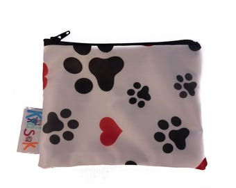 Paw Reusable Snack Bag - Small