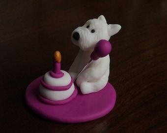 West Highland Terrier Ornament.