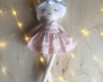 Winnie - Handcrafted Dress Up Doll