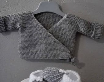 Baby 0/3 months and BRA set