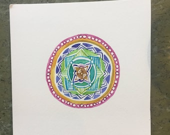 Rainbow Connection Mandala