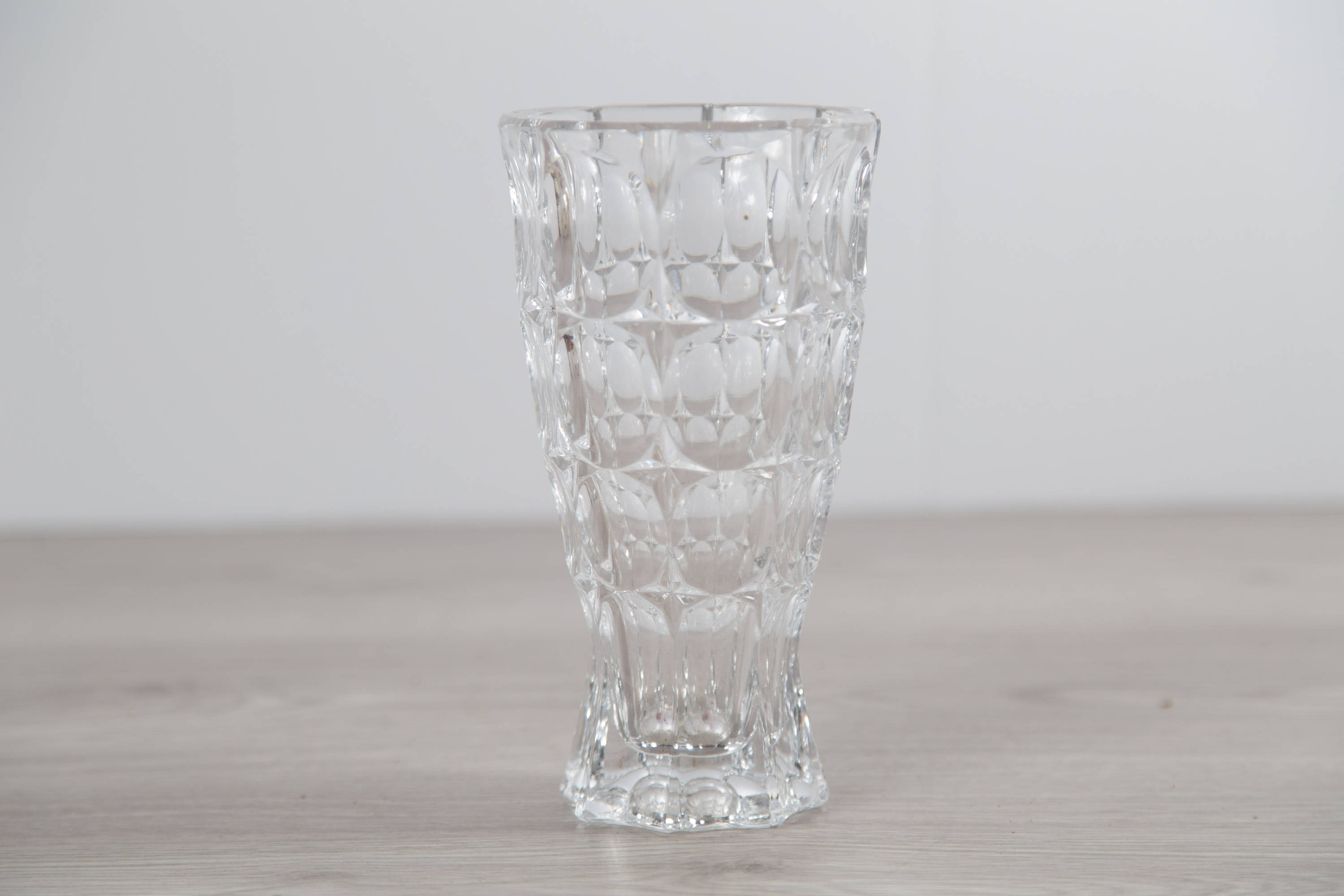 in hexagonal crystal decorative heavy angry good pin flower france vase get lead made throwing