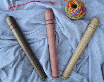 Nostepinne/ White Oak/ Red Oak/ Red Cedar/ Ammonia Fumed White Oak/ Free Shipping/ Ball Winder/ Yarn Baller/ Hand Turned/ Gift for Knitters