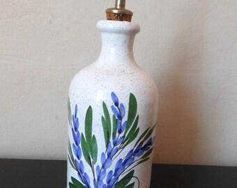 Vintage Ceramic Jar/French Provence/Lavande/lavender